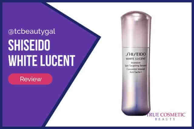 Shiseido White Lucent | Product Info & Review