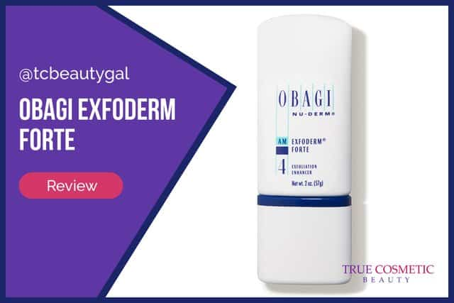 Obagi Exfoderm Forte Review